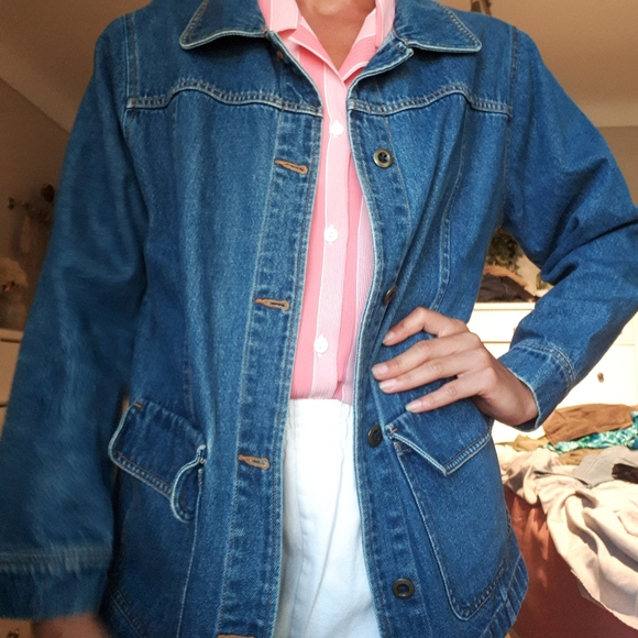 Vintage 90's oversized Denim jacket